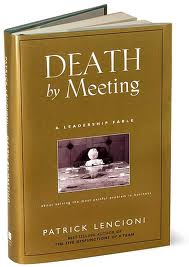 dealth by meetings book